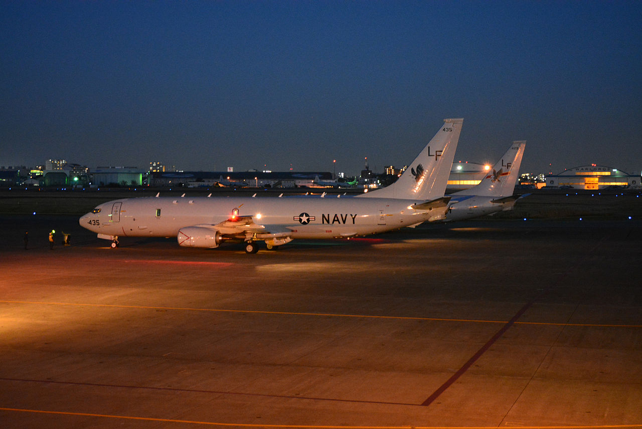 P-8A_Poseidons_of_VP-16_at_NAF_Atsugi_in_2013