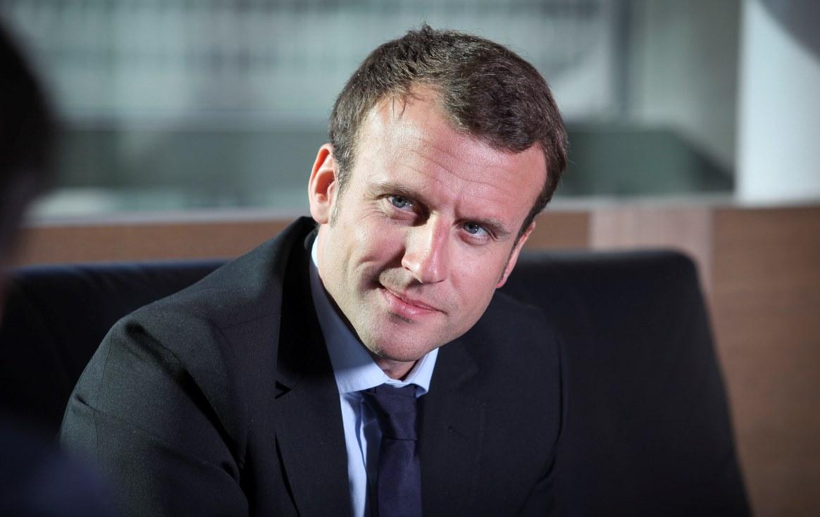 Emmanuel Macron, ministre de l'économie, de l'industrie et du numérique dans le gouvernement Manuel Valls II. Photo prise le 12 mail 2015