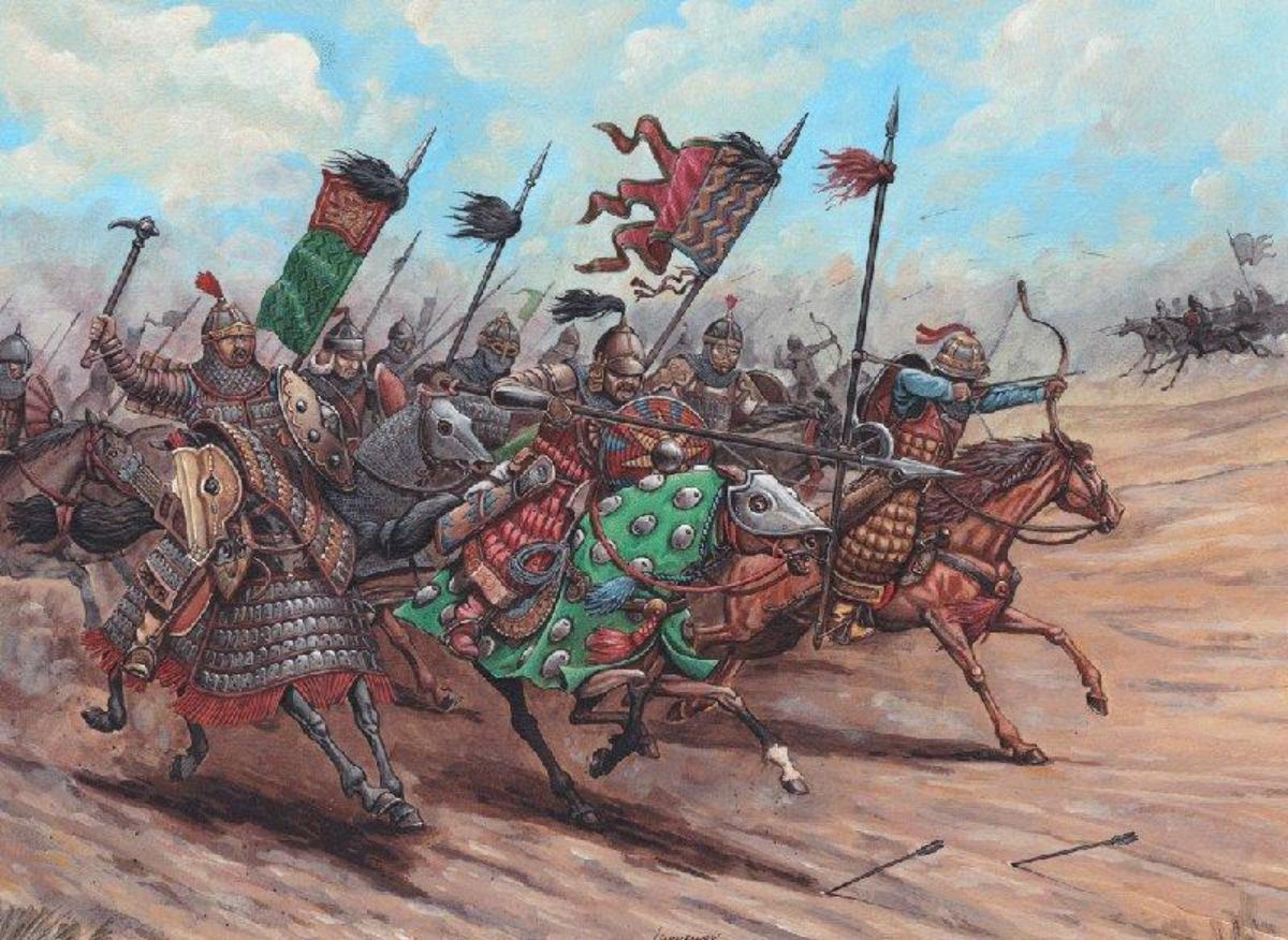 татаро-монгольские всадники
